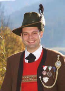 Andreas Zass, Hauptmann Stellvertreter