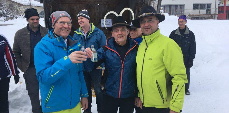 Eisschießen mit Panzlschützen Mühlbach/Bramberg
