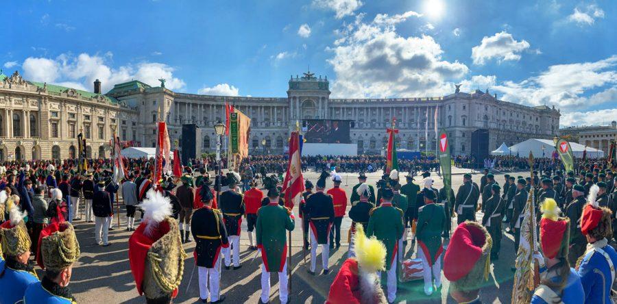 100 Jahre Republik – Wiener Heldenplatz