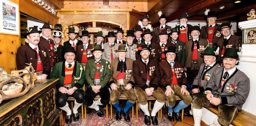 Kommandantenbesprechung Anton Wallner Bataillon – Bramberg