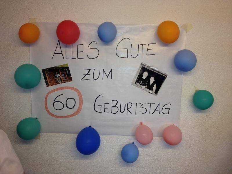 Geburtstagsfeier Hauptmann Hans Feichter